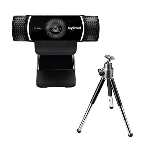 ロジクール ウェブカメラ C922 ブラック フルHD 1080P ウェブカム ストリーミング 撮影用三脚付属 国内正規...