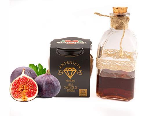 Mermelada de Higo con licor de Ratafia 230g   Mermelada Gourmet 100{b8a0639529d6cdb49fc6d4716b99ab029d86c40896b8098e656e27076b112273} Fruta - Sin Azúcares Añadidos - Hecho en España   Conservas Antonieta