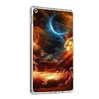Fuleadture iPad 10.2 2019/iPad カバー,TPU 耐震性 クリア スリム ハード アンチダスト 落下に強い キズ防止 軽量 保護カバー iPad 10.2 2019/iPad Case-ad548