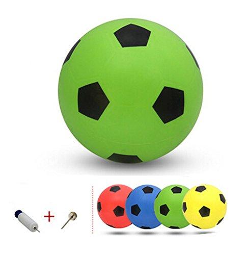 Gonflable Soccer Balls Pool Party Favor beachballs vert en plein air, 8.3 ''