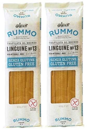 Pasta de Linguine Sin Gluten Rummo - 2 paquetes x 400 gr