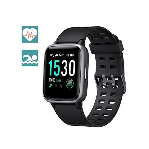 Arbily Reloj Inteligente Pantalla Táctil Completa Pulsera de Actividad Smartwatch Mujer Hombre Niño Reloj Deportivo a… 1