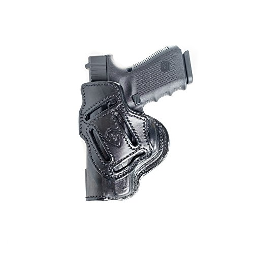 4 in 1 Leather Holster Fits Beretta PX4 Storm Sub Compact. IWB Inside Waistband Conceal or Outside Waistband OWB Holster.