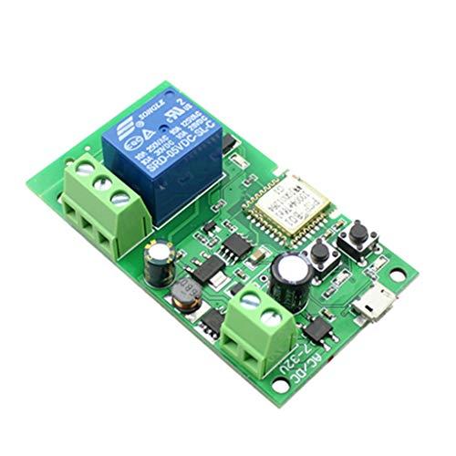 BE YOU TIFUL Smart WiFi Control Remoto DIY Control de Acceso Modificado Módulo de Interruptor inalámbrico