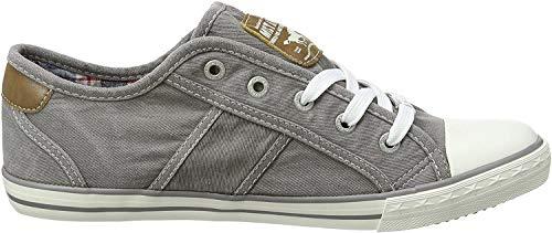 MUSTANG - Damen Halbschuhe - Blau Schuhe in Übergrößen, Größe:43