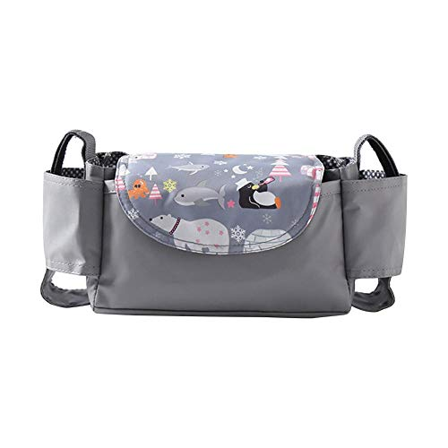 CHENSTAR Baby Stroller Organizer With Cup Holders, Stroller Accessories Organizer Bag Baby Stroller Hanging Bag Baby Travel Bag, Fit Most Baby Stroller Models And Pet Stroller