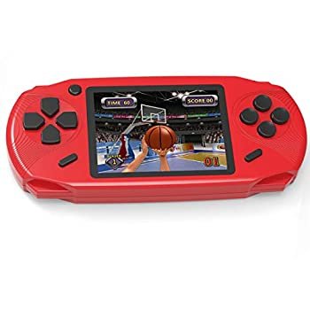 Beijue 16 Bit Handheld Games for Kids Adults 3.0   Large Screen Preloaded 100 HD Classic Retro Video Games no Need WiFi USB Rechargeable Seniors Electronic Game Player Birthday Xmas Present  Red