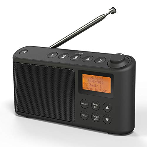DAB/DAB+ & FM Radio, Mains and B...