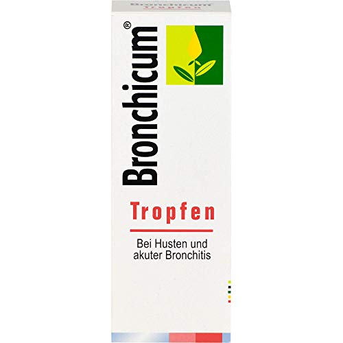 Bronchicum Tropfen bei Husten und akuter Bronchitis, 100 ml Lösung