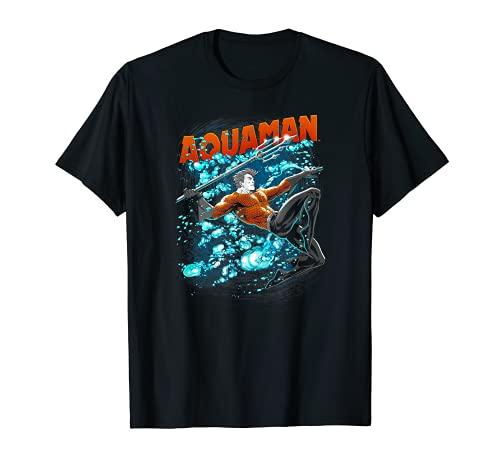 Aquaman Bubbles Camiseta