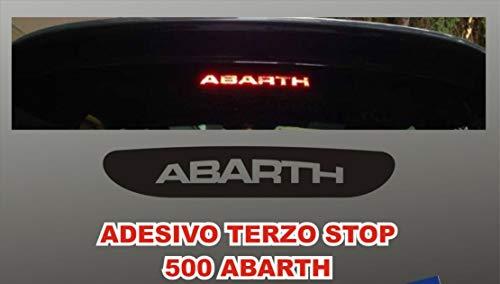 mural stickers Aufkleber Dritte Stop für Neue FIAT Cinquecento 500 Abarth