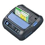 Etikettiermaschine 80mm Bluetooth Thermodrucker Pocket Etikettendrucker Label Maker 58mm Bondrucker for Android IOS POS ESC