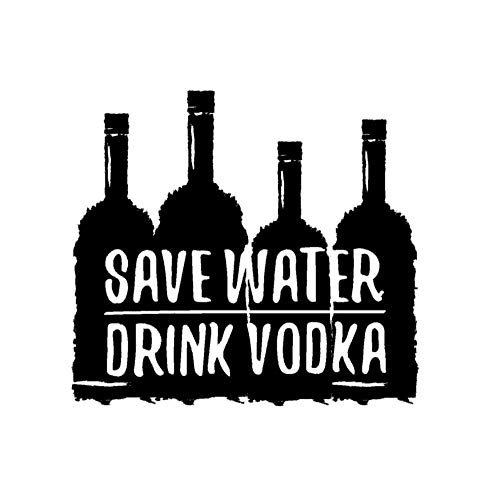 SUPWALS Wandtattoos Wodka Glasflasche Silhouette Wandaufkleber Aufkleber Resto-Bar Aufkleber Wandkunst Dekoration 61X57Cm