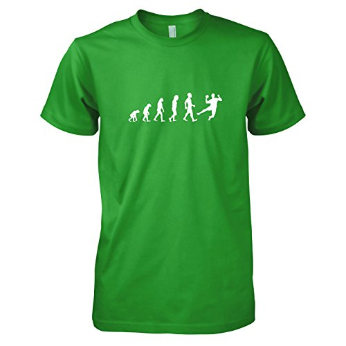 Texlab - Handball Evolution - Herren T-Shirt, Größe XL, grün