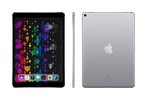 """APPLE MQEY2LL/A iPad Pro with Wi-Fi + Cellular 64GB, 10.5"""", Space Grey"""