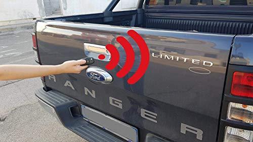 Logan4x4 Chiusura CENTRALIZZATA PORTELLONE per Ford Ranger 2012 – 2020 Accessori