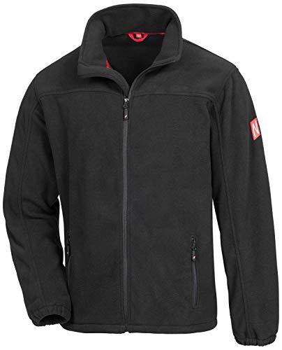 Nitras Motion TEX Plus 7040 Softshell-Jacke für die Arbeit - Schwarz - L