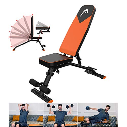 Amazing Deal Home Gyms Fitness Chair Dumbbell Bench Multi-Functional Sit-up Board Abdominal Muscle Fitness Equipment Multi-Functional Bench Press Stool Suitable for Gyo Living Room