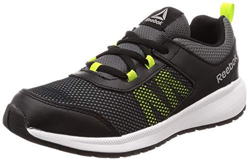 Reebok Road Supreme, Zapatillas de Running para Niñas, Negro (Black/Alloy/Neon Lime/White/Pewter Black/Alloy/Neon Lime/White/Pewter), 36 EU