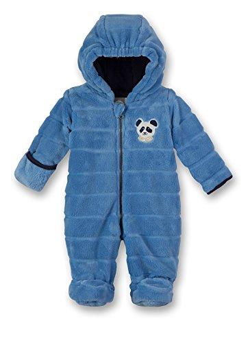 Sanetta Baby-Jungen Outdooroverall Schneeanzug, Blau (Blue Sea 50206.0), 74