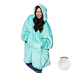 ORIGINAL WEARABLE BLANKET SEEN ON SHARK TANK: we're the brand that made wearing your blanket a thing! This wearable blanket keeps you warm & cozy while you lounge at home, watch TV, play video games, work on your laptop, camp, attend a sporting event...