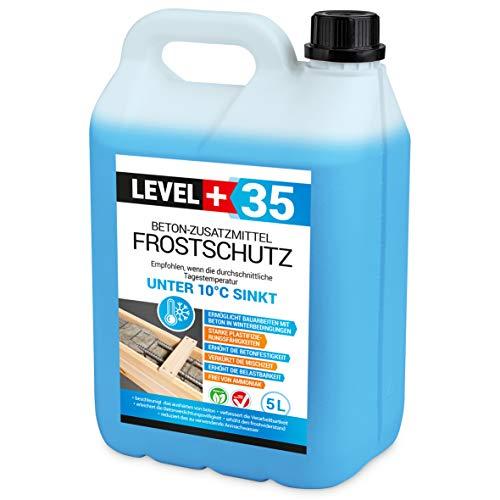 5 L Beton-Zusatzmittel Frostschutz Plastifizierer Betonzusatz Betonverflüssiger RM35