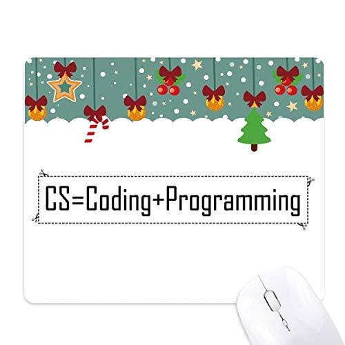 CS Contiene codificación y programación, Alfombrilla de