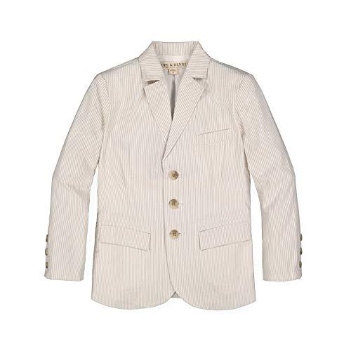 ours blazers for women Hope & Henry Boys' Classic Seersucker Suit Jacket