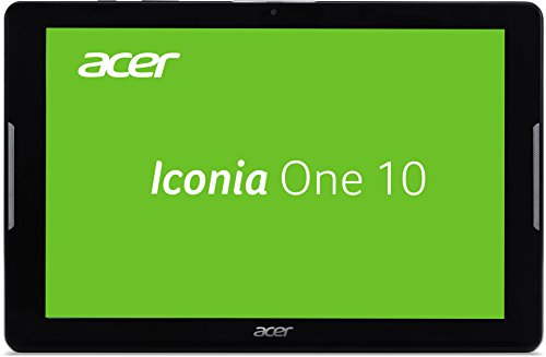 Acer Iconia One 10 (B3-A30) 25,7 cm (10,1 Zoll HD Touch IPS) Media Tablet (1,3 GHz Quad-Core, 16 GB, 1 GB RAM, GPS, Bluetooth, MicroSD, MicroUSB, WLAN, Android 6.0, Multi-Touch) schwarz