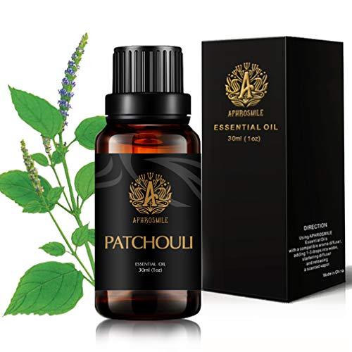 Patchouli Olio per diffusore, 30ml terapeutico Grade Patchouli olio essenziale per diffusore, 100% Pure Patchouli olio essenziale per umidificatore, 1oz patchouli olio profumato per casa massaggio
