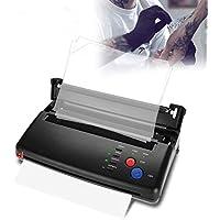 Filfeel Impresora térmica de transferencia de tatuaje y copiadora de plantillas térmicas para papel A4 A5(EU)