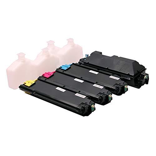 Set 4X alternativ Toner für Kyocera TK-5270 für Ecosys M6230 M6230cidn M6630 M6630cidn P6230 P6230cdn M 6230 M 6230cidn M 6630cidn P 6230 P 6230cdn TK5270 TK-5270K TK-5270C TK-5270M TK-5270Y von ABC