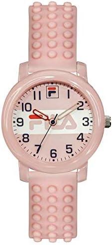 FILA Reloj Analógico para Unisex Adulto de Cuarzo con Correa en Silicone 1