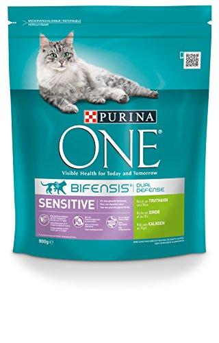 Purina ONE Katzenfutter Sensitive reich an Truthahn