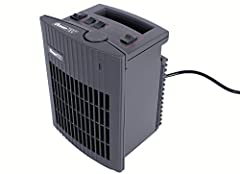 Ocean TEC keramische kachel Thermal Plus, mobiele verwarming voor kantoor, garage, boot, jacht, camping*