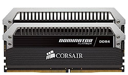 Corsair CMD8GX4M2B3000C15 Dominator Platinum Kit di Memoria per Desktop a Elevate Prestazioni, DDR4 8 GB, 2 x 4 GB, 3000 MHz, Nero