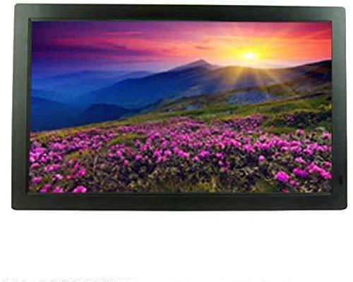 GOHHK Digitale Bilderrahmen 22 Zoll 16: 9 HD 1920 x 1080 IPS-Bildschirm Digitaler Bilderrahmen Werbemaschinen-Player Werbebildschirm Elektronisches Fotoalbum USB-Schnittstelle Unterstützt HDMI