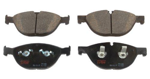 TRW Automotive TPC1448 Scheibenbremsbelagsatz, für Jaguar XF: 2010 - 2015 und andere Anwendungen, vorne, schwarz