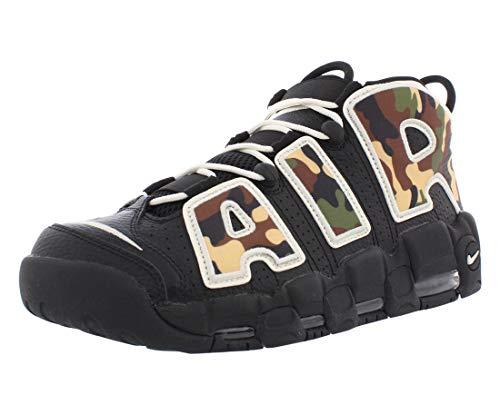 Nike Scarpe da Uomo Sneaker More Uptempo '96 in Pelle Camo CJ6122-001