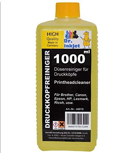 1000ml Dr.Inkjet Druckkopfreiniger/Düsenreiniger/Inkjetcleaner - für alle Tintenstrahldrucker