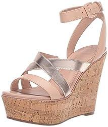 top 10 guess platform heels GUESS GANSEL Ladies Platform, Pink, 10