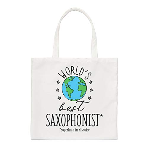 Del Mundo Mejor Saxofonista Estándar Bolsa