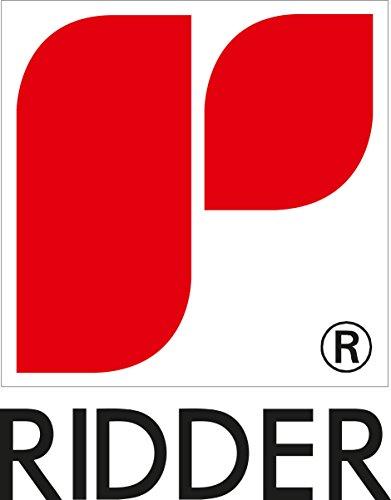 RIDDER 130380 Duschvorhang Folie ca. 180 x 200 cm, Retro