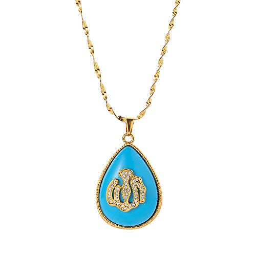 Urkish Lira Coin Allah Necklaces For Women/girls Traditional Nation Arab Jewelry Turkey Iraqi Muslim Pendant 50 Cm