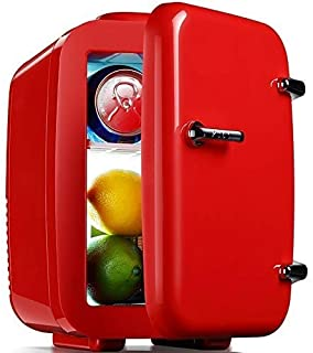 Mini Fridge Portable Compact Refrigerator Cools Warms, 4 Liter Capacity Chills Six 12 Oz Cans, 100% Freon-free Ec. KKGGS