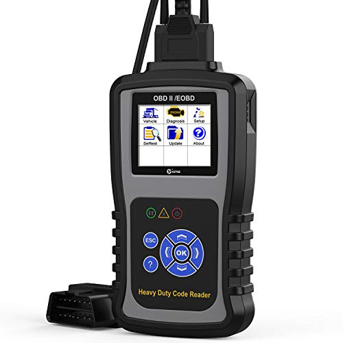 Fantastic Prices! KZYEE KC601 Heavy Duty Scan Tool, HD Truck Diagnostic Scanner Transmission DPF Cod...