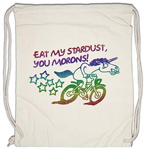 Urban Backwoods Eat My Stardust You Morons Turnbeutel Sporttasche