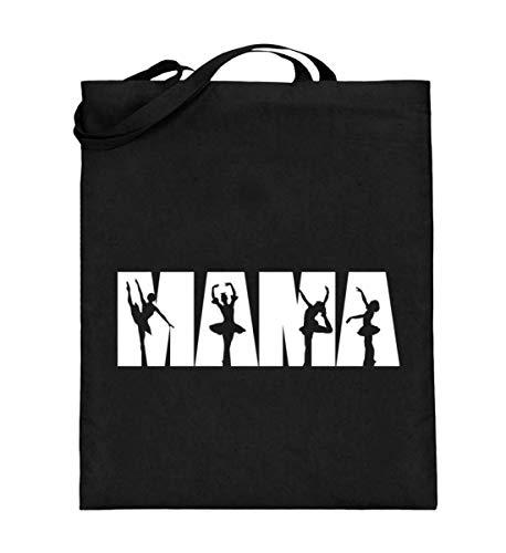 Chorchester Ideal für Ballett und Tanz Mamas - Jutebeutel (mit langen Henkeln)