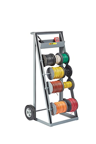 Little Giant RT4-8S Bulk Handling Wire Reel Caddy with Full Width Handle...