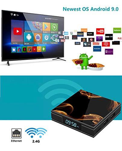 『Android 9.0 TV BOX ー Percrocuta 4K 高精細 アンドロイド9.0 Wifi テレビボックス RK3228A , 2GB RAM 16GB ROM 搭載 WIFI2.4GHz 経由 - Android TV BOX』の5枚目の画像